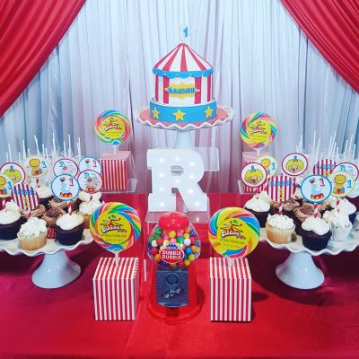 Birthday party - red